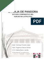 La Caja de Pandora - Estudio Comparativo Del Sueldo en La Politica