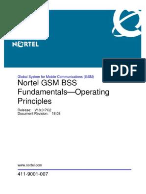 NORTEL GSM Principles(1) pdf | Mobile Telecommunications | Computer