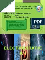 Electrostatica - Industrial - 3er Ciclo