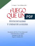 FUEGO QUE UNE Pentecostalismo y Unidad de La Iglesia (1)