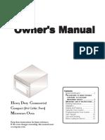 UHDC518 Service Manual