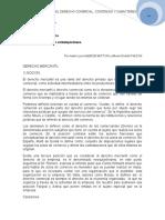 1. Antecedentes Del Derecho Comercial. Contenido y Caracteres. Isabel l. Alem de Muttoni y Alberto r. Falcon