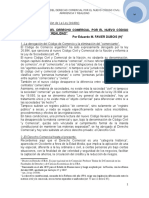 3. La Derogación Del Derecho Comercial Por El Nuevo Código Civil Apariencia y Realidad. e. m. Favier Dubois