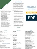 Michigan State AFL-CIO Community Services Liaison Program