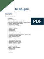 Adele de Boigne-Memorii