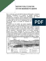 VOLCANICOS EXALATIVOS SEDIMENTARIOS