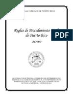 Reglas Procedimiento Civil de Puerto Rico (2009)