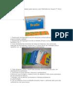 Sugestões de atividades para alunos com Deficiência Visual.docx
