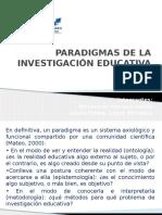 Paradigmas de La Investigación Educativa
