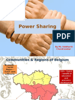 powersharing-belgium and sri lanka