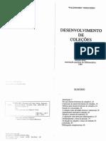 Desenvolvimento de Coleções - Waldomiro Vergueiro