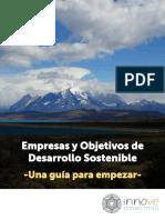 «Empresa y Objetivos de Desarrollo Sostenible. Una guía para empezar»,