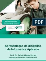 ApresentacaoDisciplina_InformaticaAplicada
