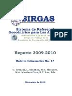 Boletin 15 de SIRGAS Dic 2010