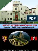 Huarajo Red Gravimetrica Peru
