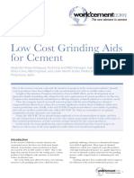 Low Cost Grinding Aids