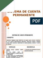 Sistema de Cuenta Permanente
