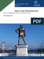 2010 Religion Politics and Development