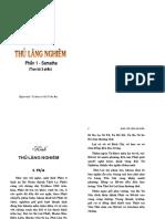Kinh Thủ Lăng Nghiêm - Quyển 1 (Sư Bà Dịch)