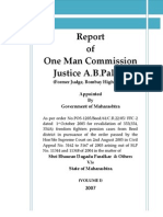 Justice AB Palkar Commission of Inquiry Report VOLUME-I