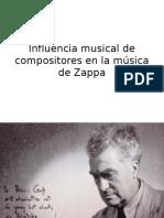 Influencia Musical de Compositores en La Música De