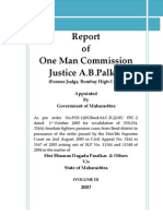 Justice AB Palkar Commission of Inquiry Report VOLUME-II