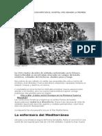 Por Qué Malta Se Convirtió en El Hospital Más Grande La Primera Guerra Mundial