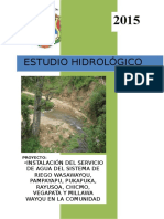 HIDROLOGIA HUAMBALPA