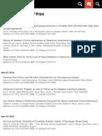 Published Ahead of Print | Pediatrics
