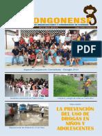 Boletín El Chongonense No 4 - Marzo 2016