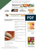 Pão de Arroz de Liquidicador Supersaudável_ Sem Leite e Sem Farinha de Trigo _ Cura Pela Natureza.com