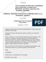 Cronkite v. FDIC, 7 F.3d 218, 1st Cir. (1993)