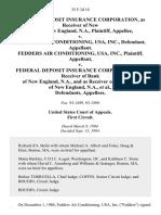 FDIC v. Fedders Air Cond., 35 F.3d 18, 1st Cir. (1994)