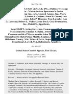 Gun Owners' Action v. Cellucci, 284 F.3d 198, 1st Cir. (2002)