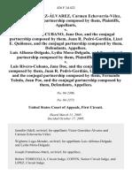 Gonzalez-Alvarez v. Rivero Cubano, 426 F.3d 422, 1st Cir. (2005)