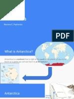 antarctica - clil unit 2016