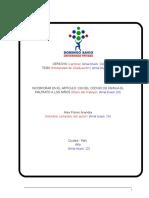 Estructura Perfil de Tesis UPDS