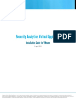 Security Analytics Virtual Appliance Installation Guide.d