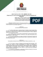 L16119 - Lei do Município de SP