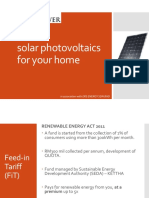 ERS MSP Solar Photovoltaics for Your Home