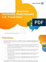 2013 Business Continuity Study