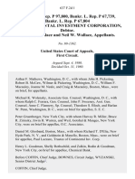 Fed. Sec. L. Rep. P 97,800, Bankr. L. Rep. P 67,739, Bankr. L. Rep. P 67,804 in Re Continental Investment Corporation, Debtor. Monte J. Wallace and Neil W. Wallace, 637 F.2d 1, 1st Cir. (1980)