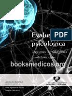 Evaluacion Psicologica Lecciones Introductorias