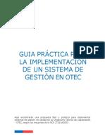 Gui Para Implementacion de SGC OTEC Chile