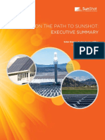 On the Path to Sunshot - Executive Summary