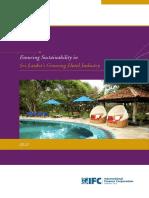Accommodation Sector in Sri Lanka