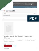 Www Uniliber Com Ficha Atlas de Gramatica Hablar y Escribir Bien Vv Aa 676812