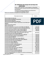 Tabela de Precos de Servicos de Eletricista