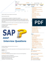 1000 SAP ABAP Interview Questions and Answers _ ABAP Interview Questions _ STechies