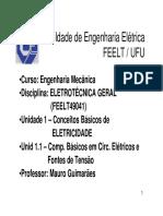 Componentes Basicos em Circuitos Eletricos